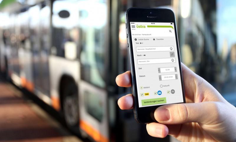 Der Mobilitätsshop: Ein Fahrkartenautomat in der Hosentasche