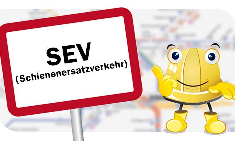 How to SEV? Wie man einen Schienenersatzverkehr plant