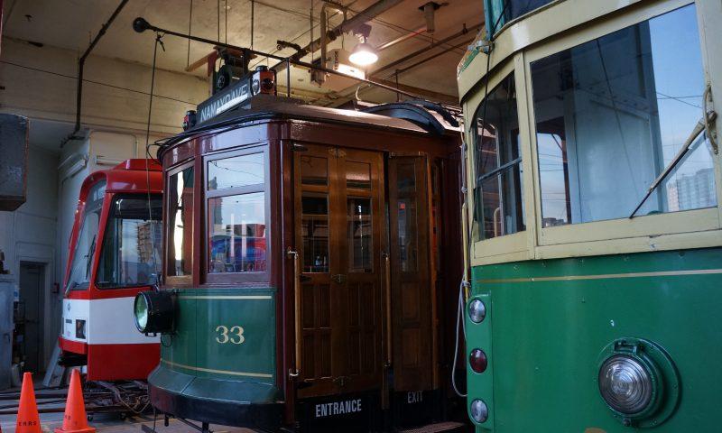 Neben den historischen Bahnen der ERRS fiel der TW 601 immer etwas aus der Reihe.