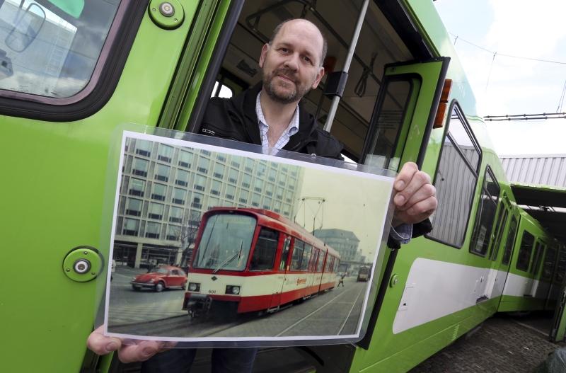 Seit 2013 warben Fritz Faupel und seine Vereinskollegen um Spenden für die Rückholung des TW 601.