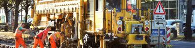 Gleisbauarbeiten: Ohne Stopfen geht's nicht