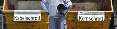 Der ÜSTRA Abfallhüter - Ein Job für die Tonne
