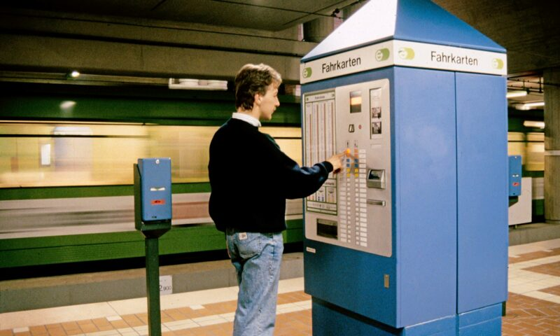 Die Evolution der Fahrkartenautomaten