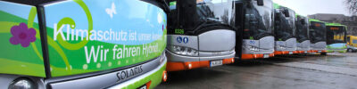 Ein sauberes Jubiläum: 10 Jahre Hybridbus in Serie