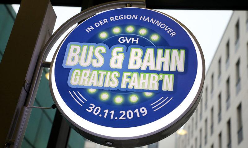 30.11.2019  - Bus und Bahn gratis fahr'n